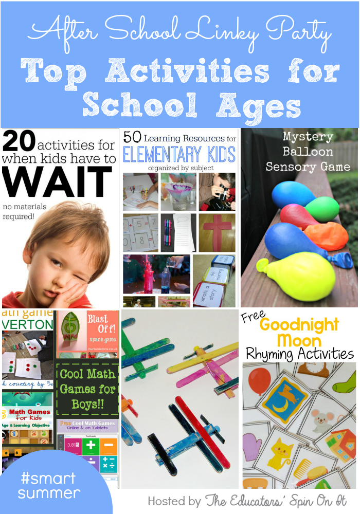 Reading Activities To Do With Afterschool Child Care Kids