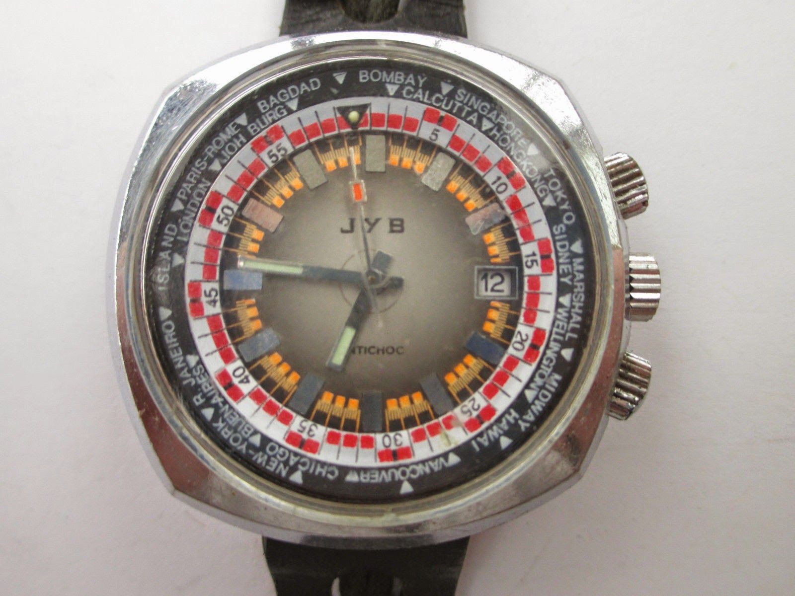 sun watch from watches flight orange timer wancher of the unbreakable rising land expert
