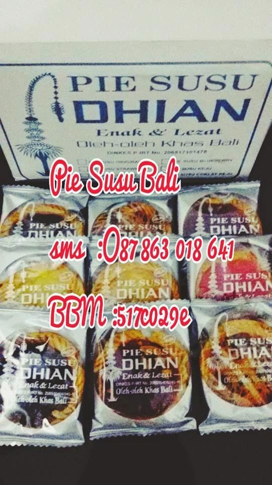 Pie Susu Dhian Rasa Keju Khas Bali