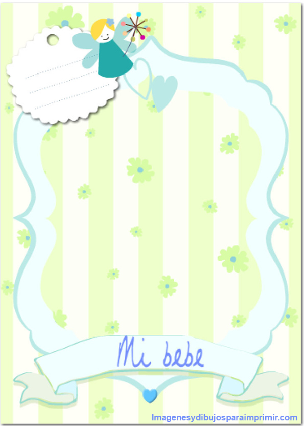 frame baby shower in blue print frames baby shower frame