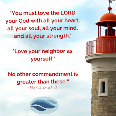 You must love the Lord you God with all your heart.