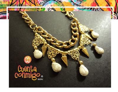 Collar Howlita