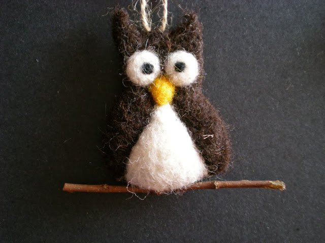 Owl ornament by Mirtilio