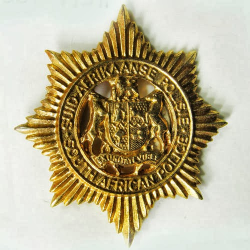 Old SA Police Cap Badge