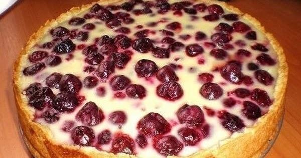 Пирог на кефире с ягодами рецепты с простые и вкусные рецепты
