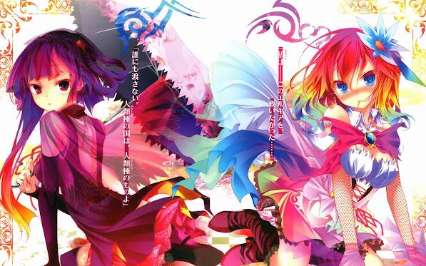 no game no life anime girls spring 2014 hd wallpaper