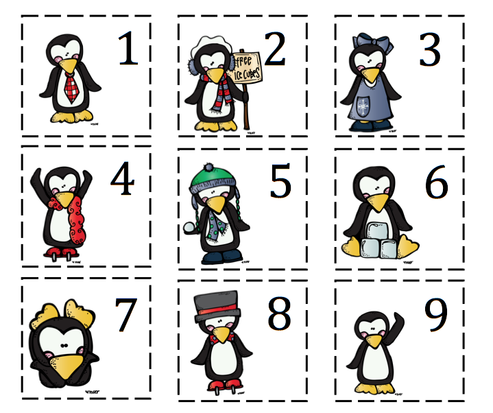 Penguin Fun Printable ~ Preschool Printables