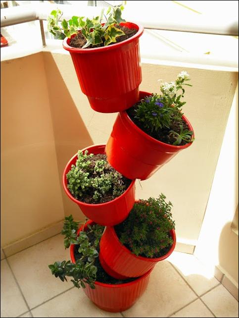 8 ideas para montar jardines verticales for Materas para jardines verticales