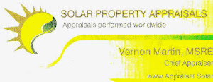 Appraisals for the solar industry