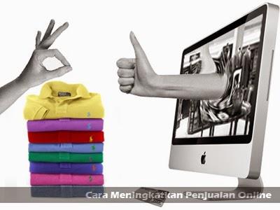 cara meningkatkan penjualan online