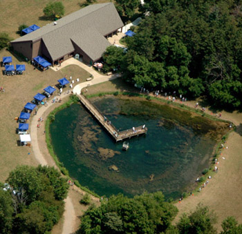 Sustaining native fish of michigan for Bass pond construction