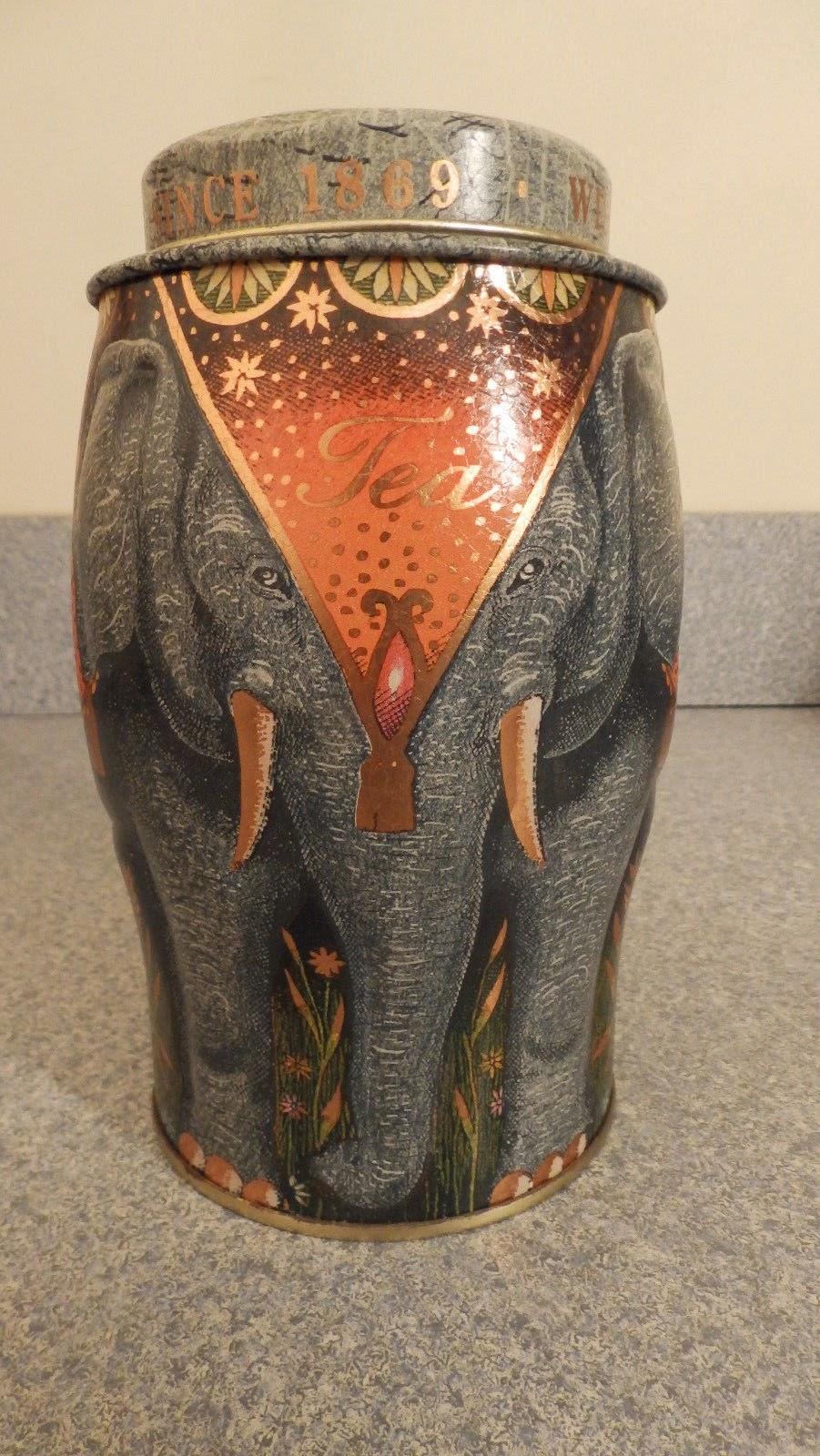 http://www.ebay.com/itm/Magor-Blue-Elephant-Williamson-Magor-Fine-Teas-Since-1869-Tea-Tin-/321689573619?pt=LH_DefaultDomain_0&hash=item4ae63158f3