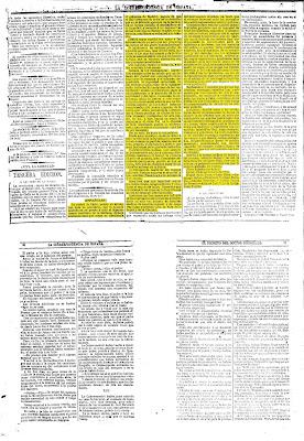 La correspondencia de España. Diario universal de noticias. España con honra. Revolución gloriosa. 1868