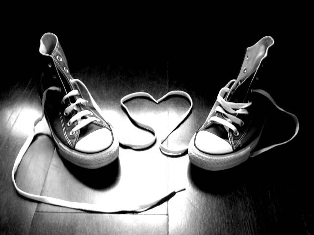 Shoes Untied Laces Pic Heart