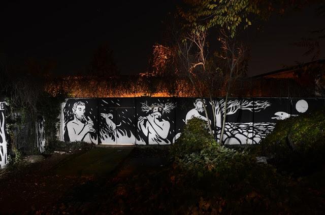 """Panismo"" New Street Art Piece By Italian Artist MP5 In Torino. 2"