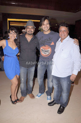 TV Star Vivek Oberoi, Neetu Chandra visit @ Pyar Ka Panchnama success bash