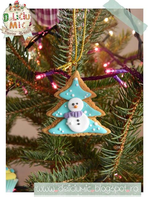 ornament de brad