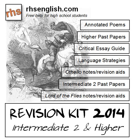sqa english national 5 critical essay