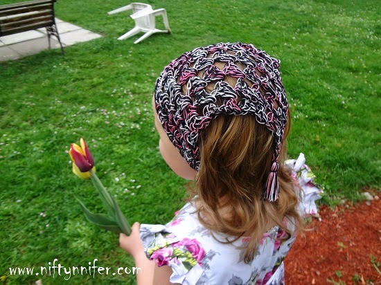 Free Crochet Hair Kerchief Pattern By Niftynnifer