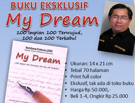 "Buku Eksklusif ""MY DREAMS"""