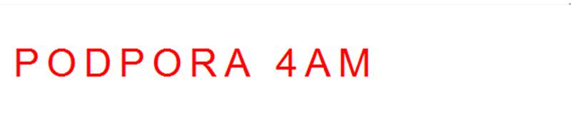 podpora 4AM