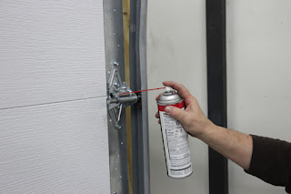Spokane garage door repair lubrication