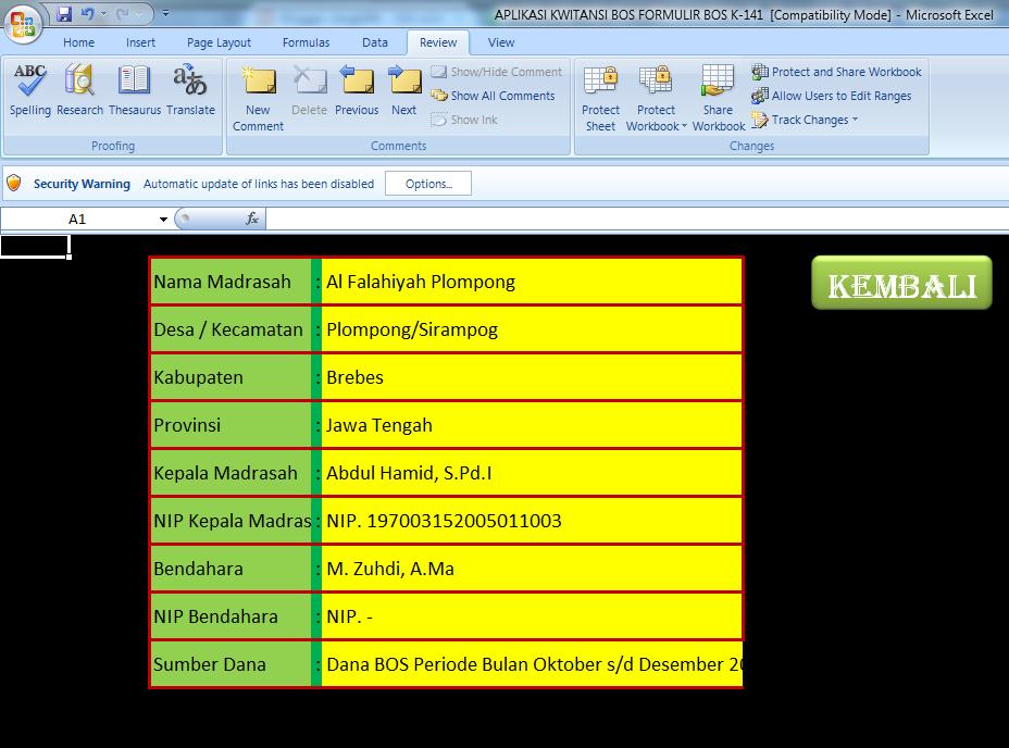 Cara Membuat Add In Terbilang Untuk Microsoft Excel 2007