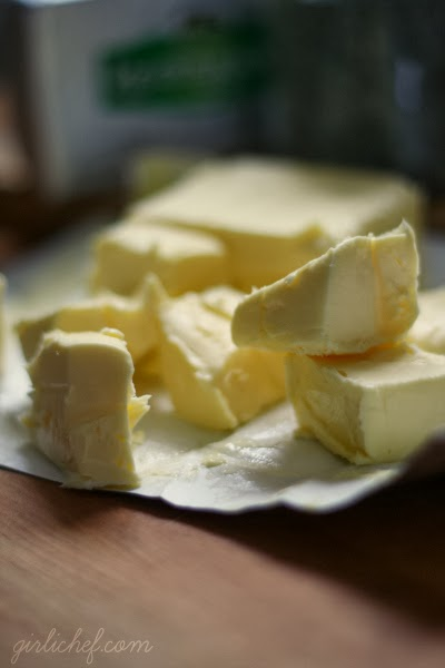 """Kerrygold Butter - perfect for holiday baking holiday treats like """"Green Fairy"""" Cakes at www.girlichef.com"""
