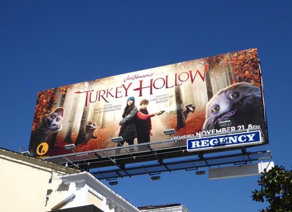 Turkey Hollow billboard