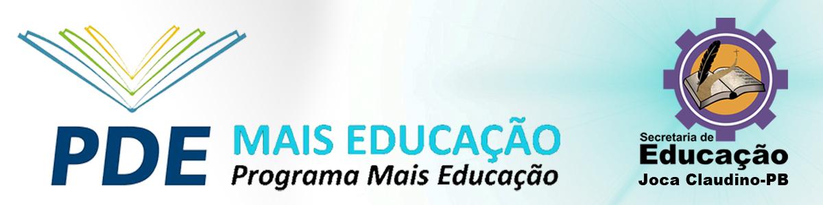 Mais Educação Joca Claudino - PB