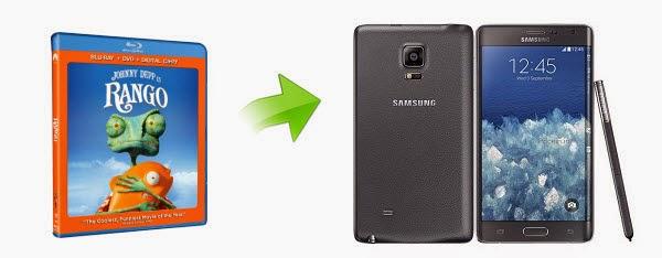 play blu-ray on Galaxy Note Edge