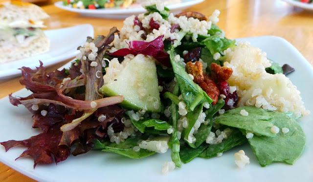 Three salads are found on the new lunch menu. The Mediterranean Salad ...