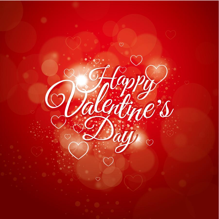 バレンタインデーの赤い背景 background Happy Valentines Day イラスト素材