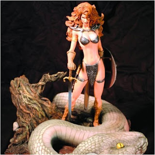 Red Sonja (Marvel Comics) Character Review - Statue Product 2