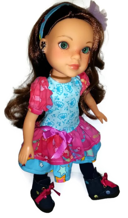 """Ready for Spring for HeartsforHearts/14"""" doll in CelenaLei"""
