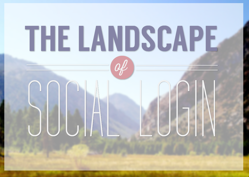 The Landscape of Social Login: Facebook Sails, Google Remained Strong, Yahoo Sinks - infographic