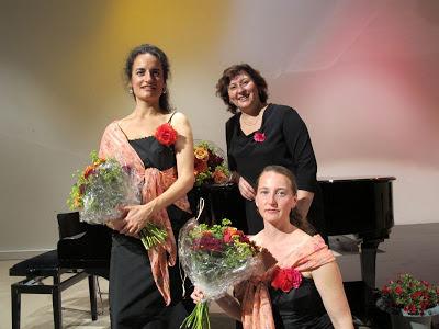 Ljuba Brezger, Alea Schaub, Aline Camenzind, Bodensee Forum, Bodenseeforum, Bodensee, Liederabend, Sommersehnsucht,