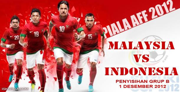 Piala AFF 2012 Laga Timnas Garuda Indonesia vs Malaysia
