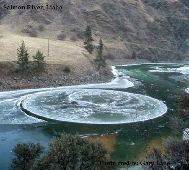 Nature's Bizarre Formations - Ice Circles