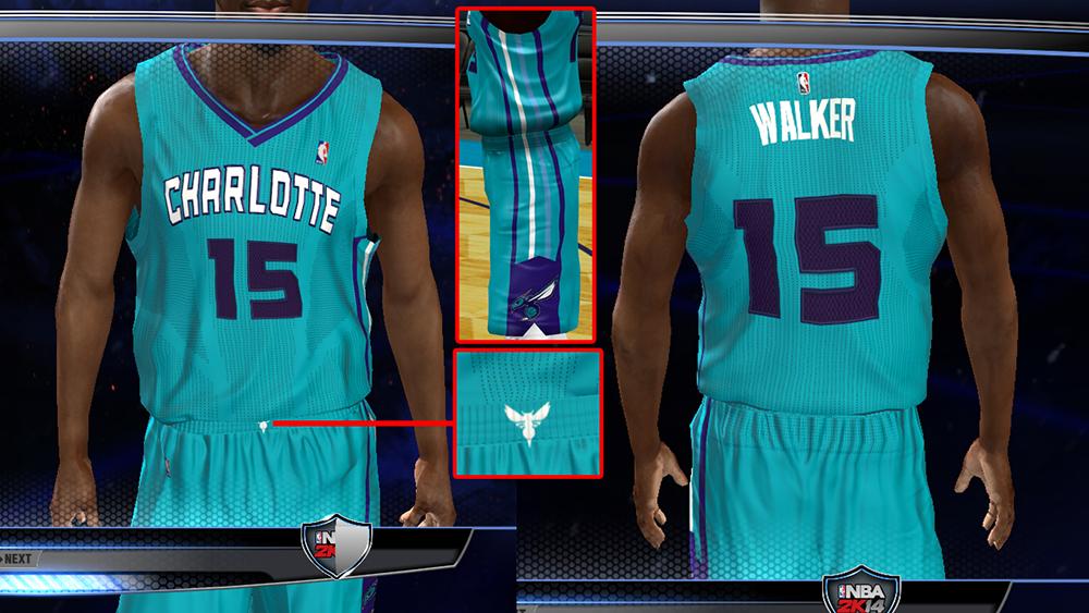 Charlotte Hornets Alt Jersey | NBA 2K