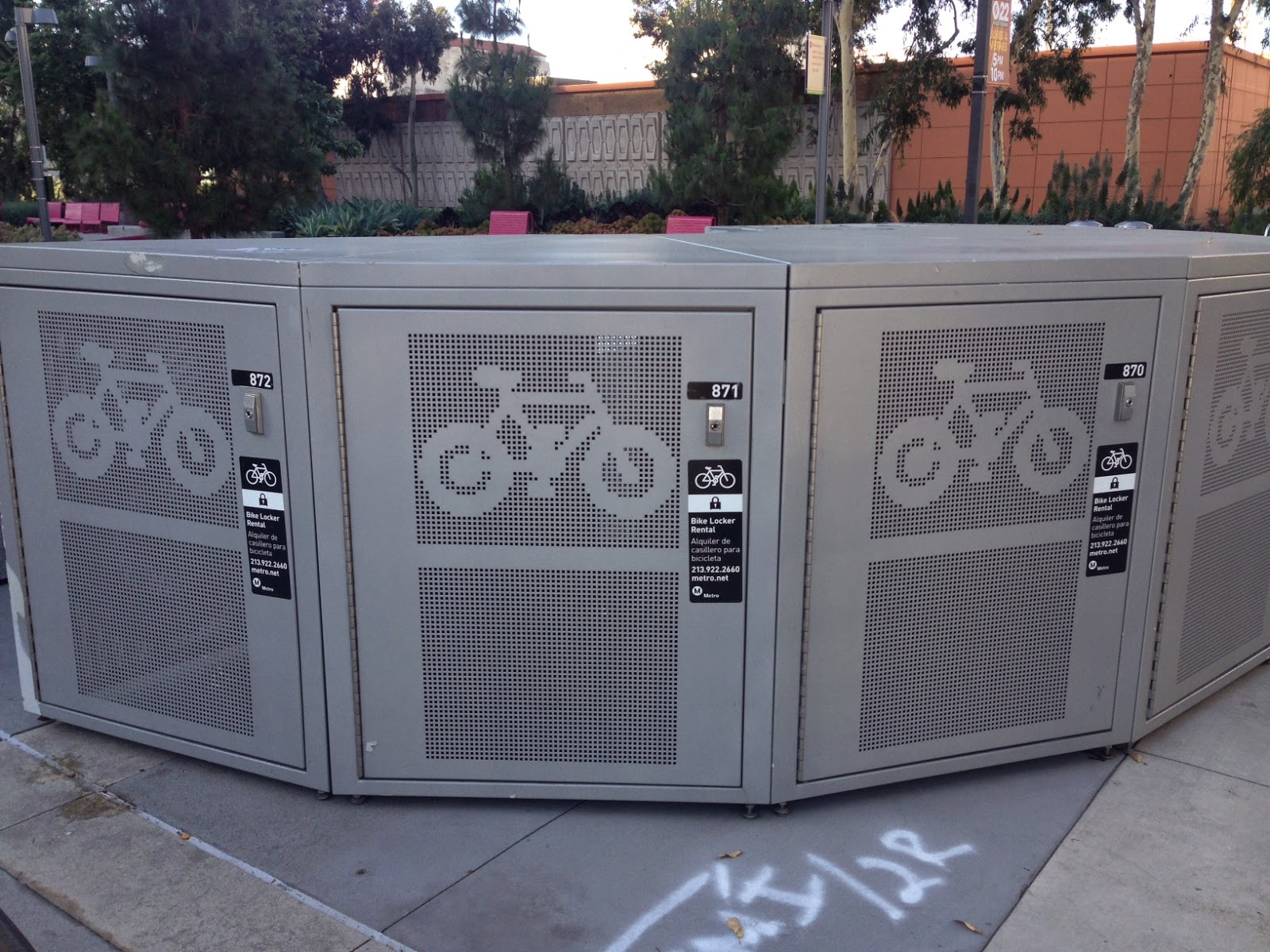 Metro Bike Locker i Also Saw Bike Lockers And