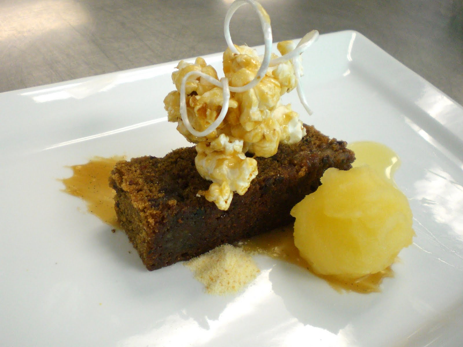 Sticky Toffee Pudding : Toffee Pudding Cake, Apple Sorbet, Toffee ...
