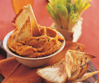 Roasted Pepper and Bean Dip