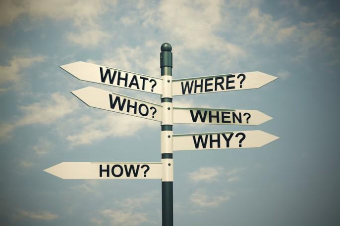 Das Blog mit den Fragezeichen