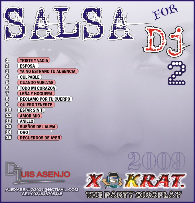 SALSA FOR DJ 2009 vol 2