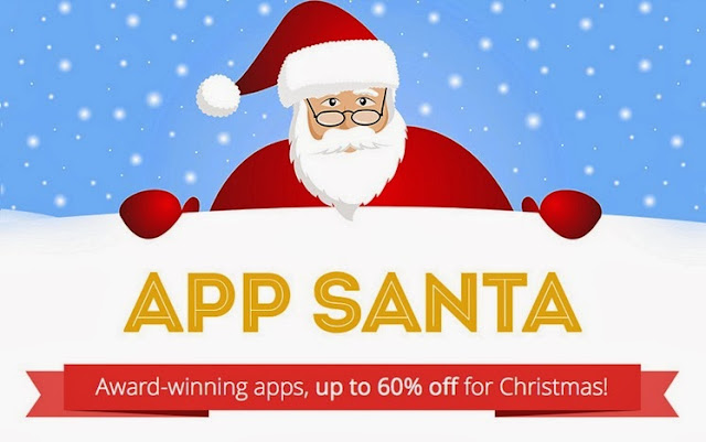 App Santa Offers Discounts on Popular iPhone, iPad Apps. Discounts are up to 60%. It's definitely worth to check if there's something for you!