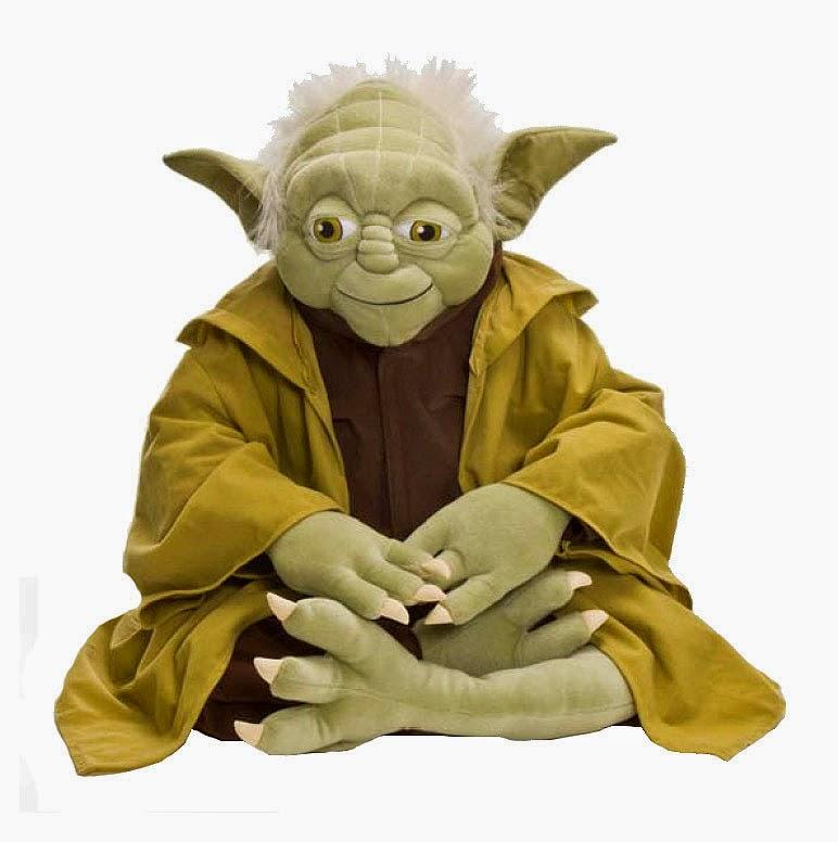 Peluche Yoda Sentado