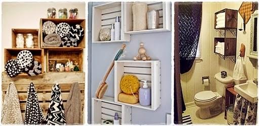 Eu Retrô Saiba como usar caixotes de feira na decoração da sua ca -> Banheiro Decorado Com Caixote De Feira