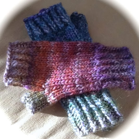 Simple and Easy Fingerless Gloves