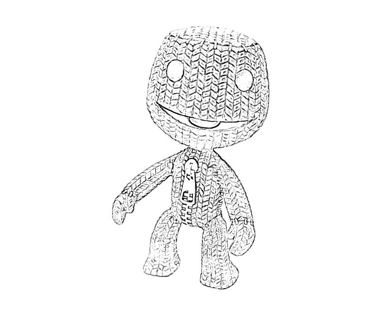 Free Coloring Pages Of Little Big Planet 3 Big Planet Coloring Pages